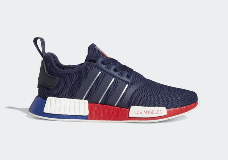 adidas nmd r1 los angeles sneakers