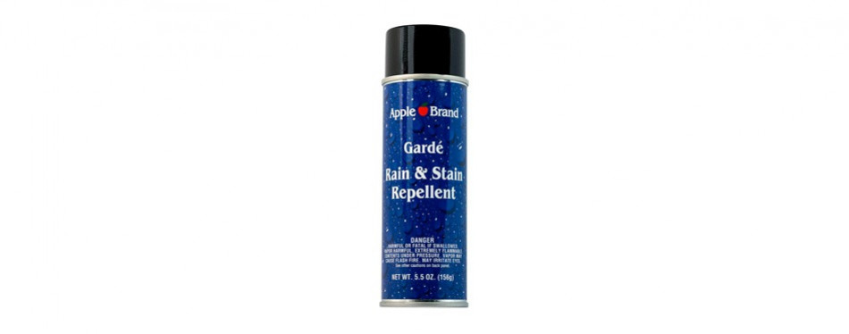 apple brand garde rain & stain water repellent