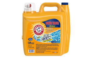 arm & hammer oxiclean fresh scent liquid detergent, 128 washes