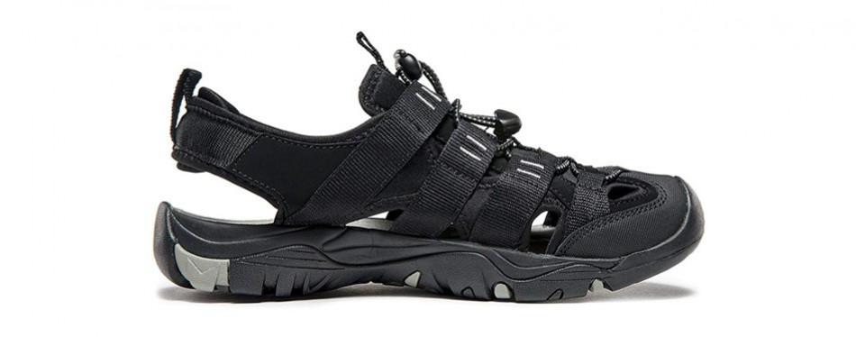 atika men's sports sandals trail outdoor water shoes 3layer toecap