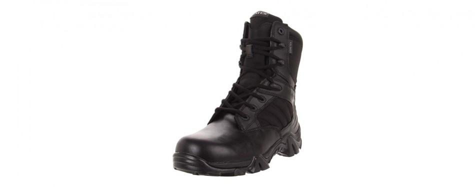bates men's gx-8 gore-tex side-zip insulated waterproof boot
