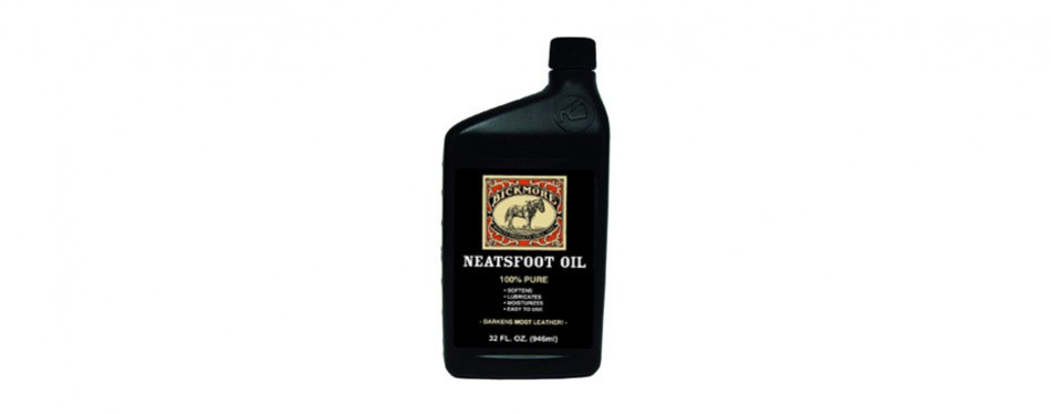 bickmore 100% pure neatsfoot oil 32 oz leather conditioner