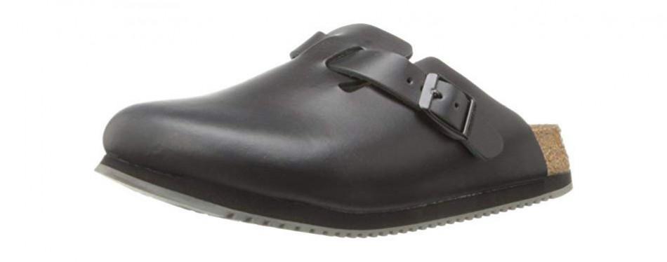 birkenstock unisex professional boston super grip leather work shoe