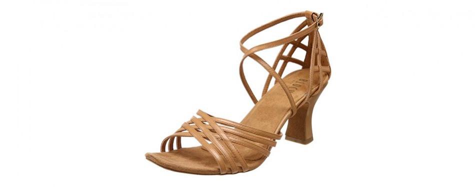 bloch dance women's yvette leather latin/salsa/ballroom dance shoe