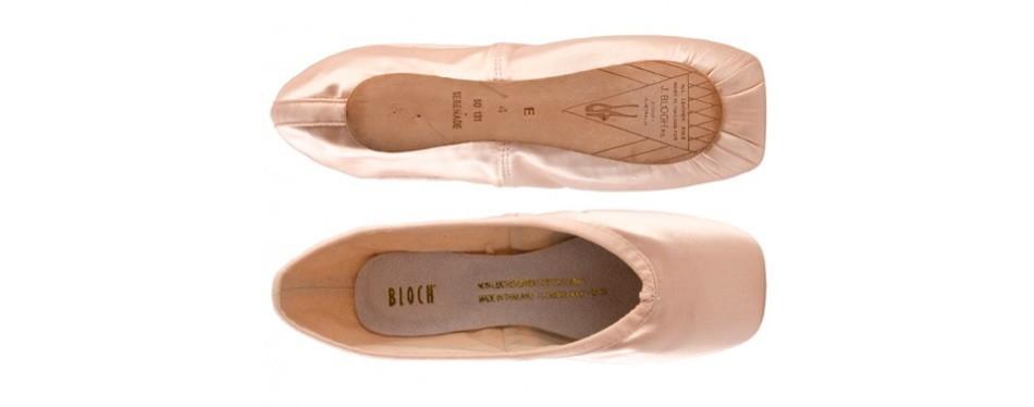 bloch women's serenade pointe ballet flats