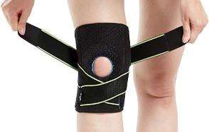 bodyprox knee brace with side stabilizers & patella gel pads