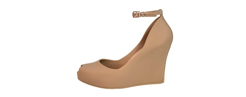 bombella jelly wedge platform sandals