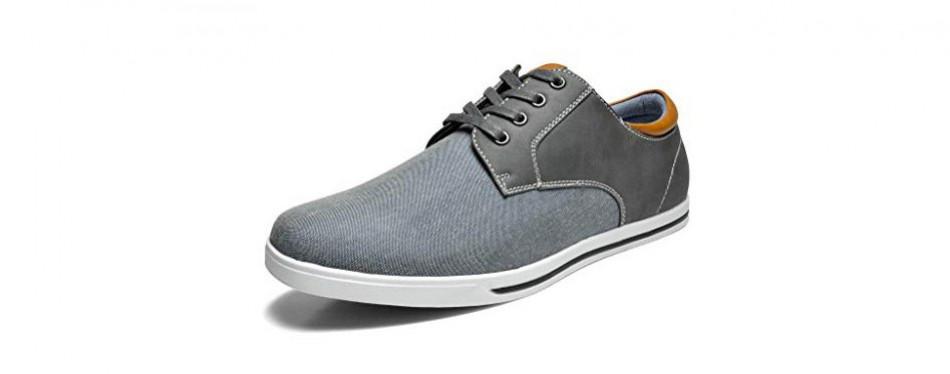bruno marc men's riviera oxford style sneakers