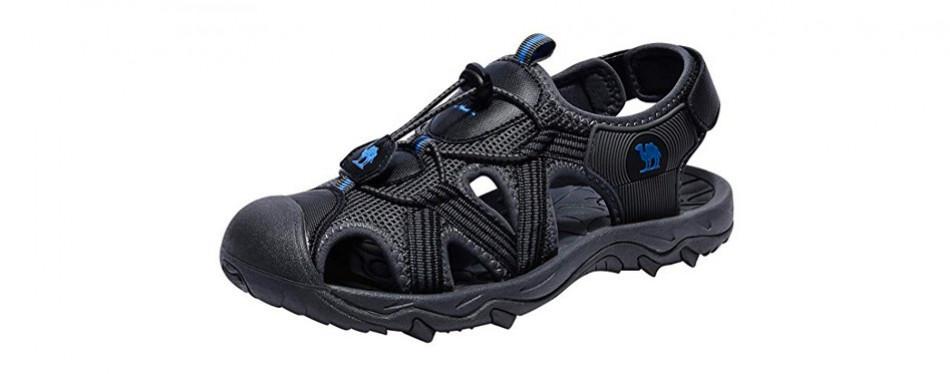 camel crown sandals for men