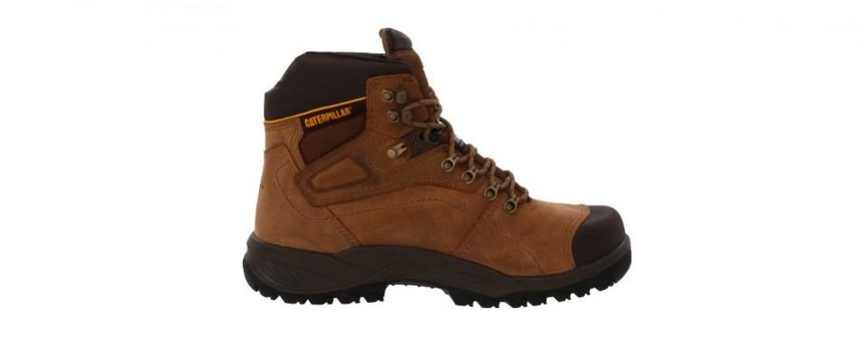 caterpillar men's diagnostic waterproof work boot
