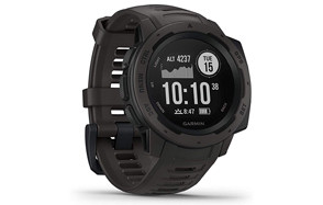 garmin instinct rugged hiking watch with gps