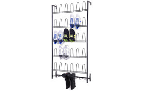 mygift wall mounted boots and shoe rack