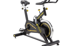 circuit fitness 40 lbs. flywheel deluxe club revolution cardio cycle manual resistance amz-955bk