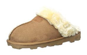 clpp'li womens fluffy suede slippers