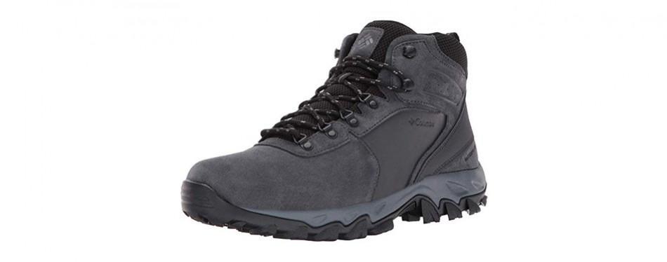 columbia men's newton ridge plus ii suede waterproof boot