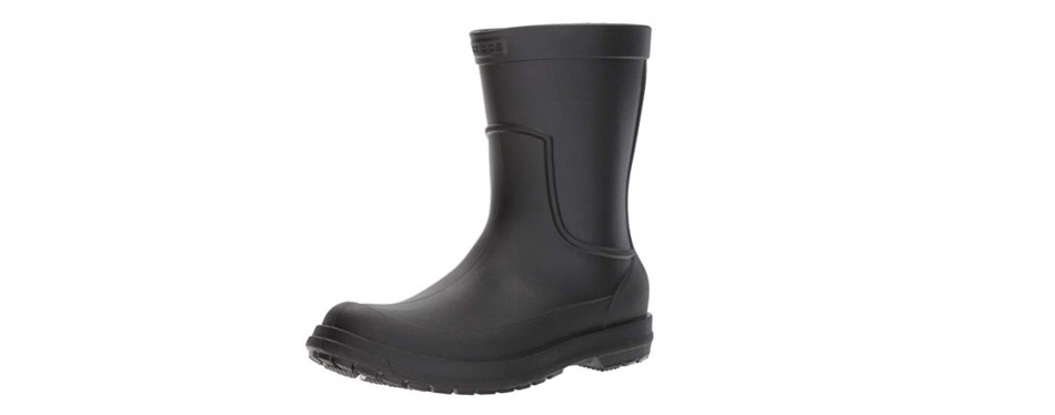 crocs men's allcast waterproof rain boot