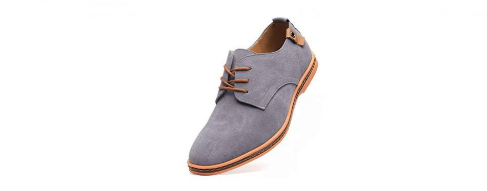dadawen men's classic suede leather oxford shoes