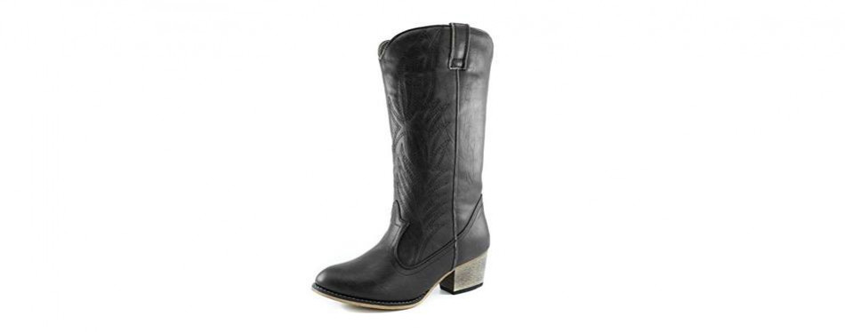 daily shoes women's embroidered cowboy boots