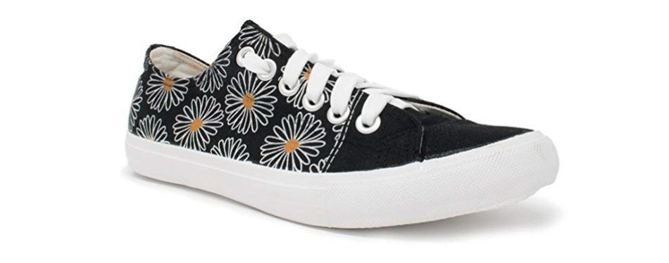 daisy flower sneakers