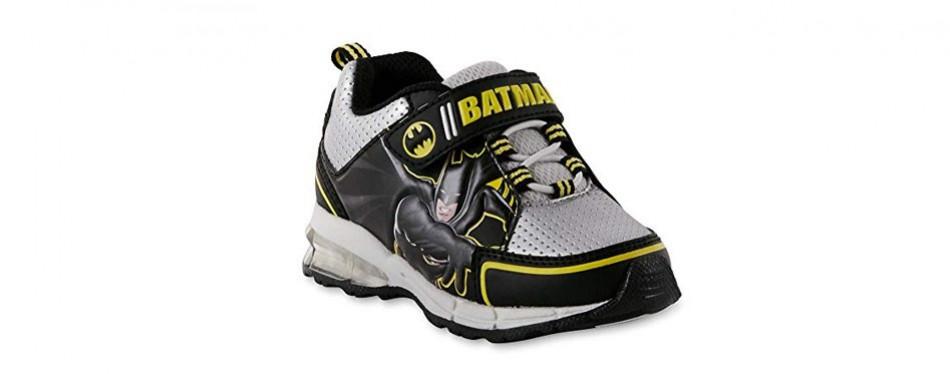 dc comics toddler boys' batman sneaker
