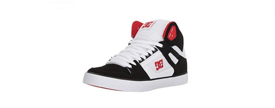 dc pure high-top wc skate shoe