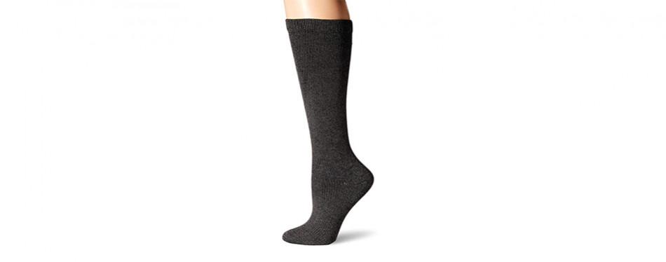 dr. scholl's travel knee high socks for women