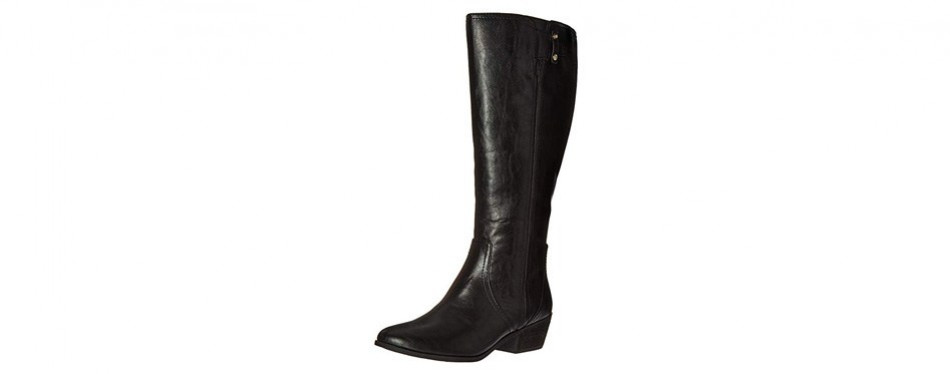 dr. scholl women's brilliance wide calf riding boot