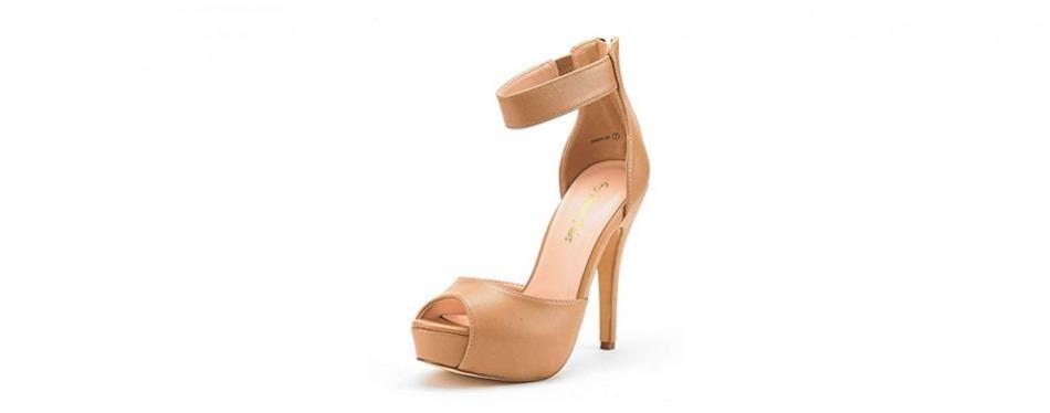 dream pairs swan high heel platform shoes