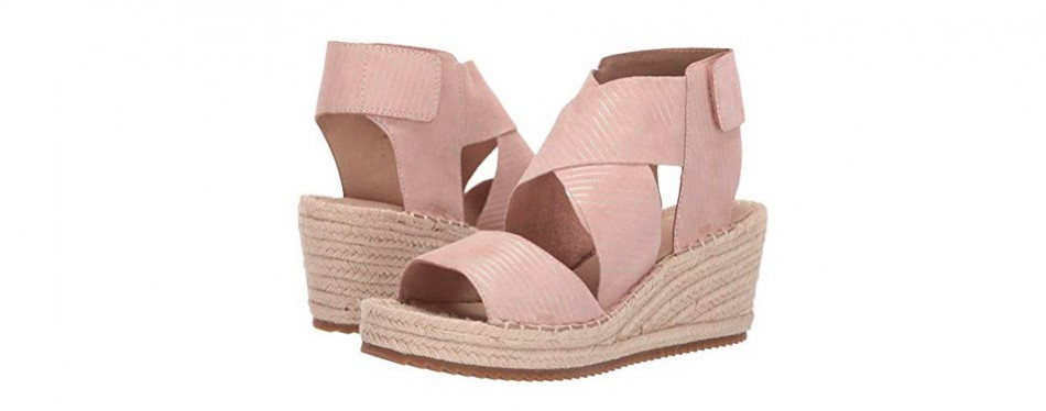 eileen fisher women's willow espadrille wedge sandal