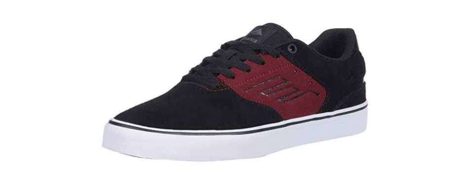 emerica men's the reynolds low vulc skate shoe