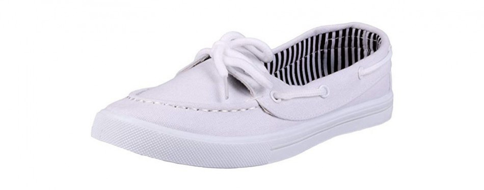 enimay women's original style slip-on boat shoes