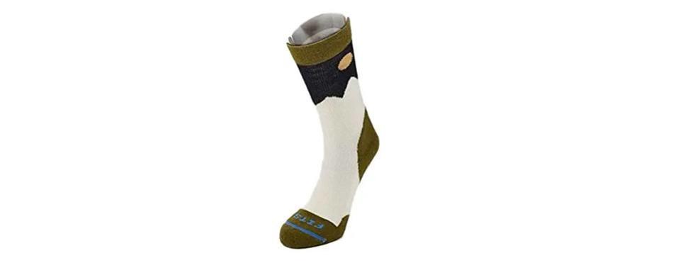fits light hiker crew outdoor socks