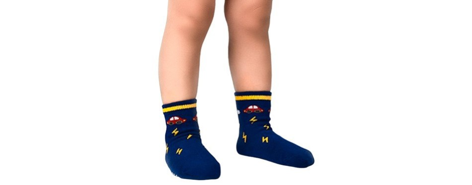 flanhiri baby sock with no skid grip