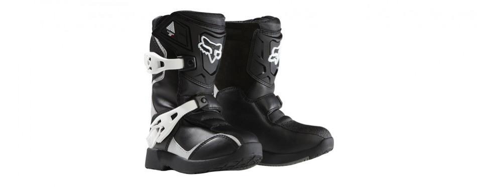 fox racing pee wee comp 5k youth boots