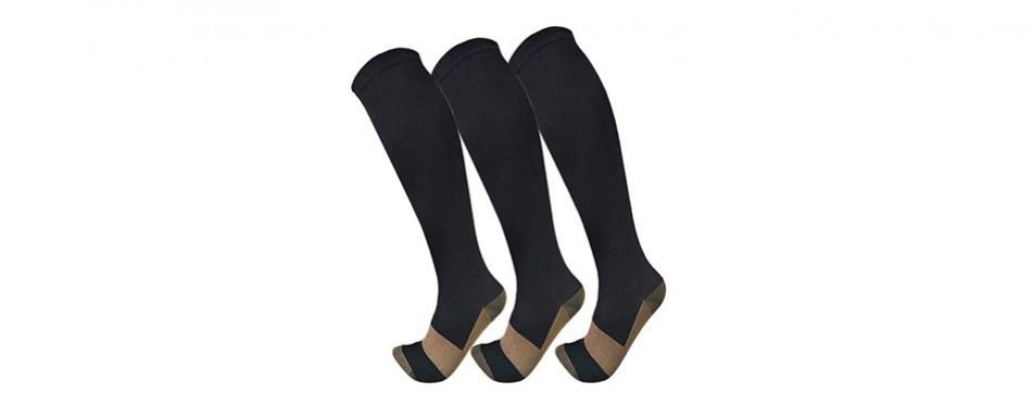 fuelmefoot copper compression socks