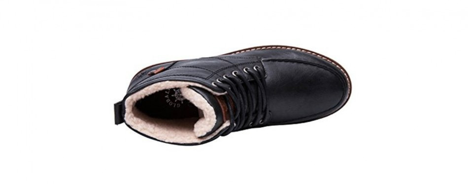 globalwin mens classic winter water resistant chukka boots