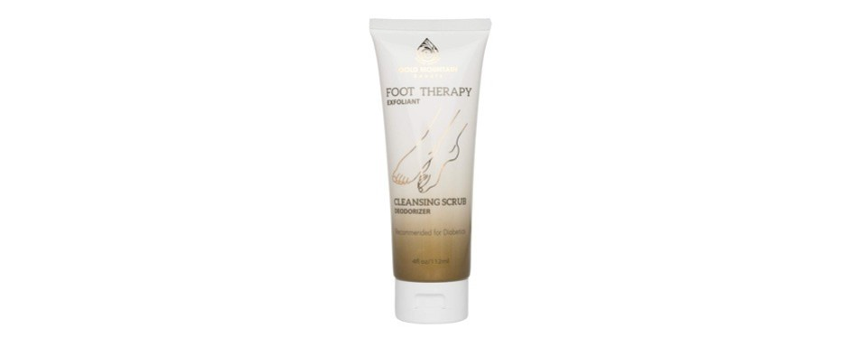gold mountain beauty cleansing foot scrub