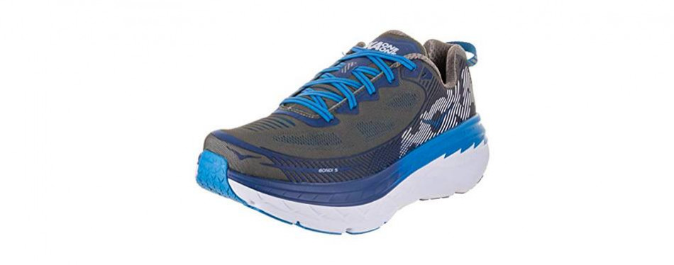 hoka one bondi 5 men's running shoe