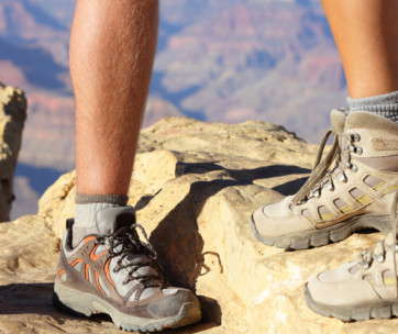 how to care for your feet when hiking