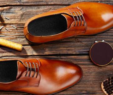 how to fix scratched leather shoes
