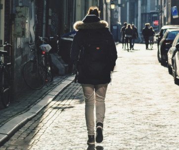 how to improve your walking commute to work