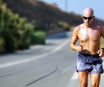 how to stop overheating when running in the heat