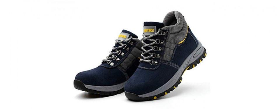 jabasic men's safety work boots