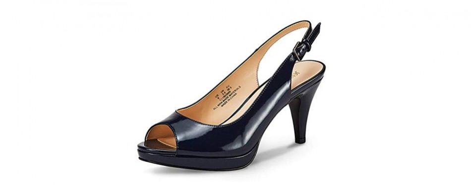 jenn ardor women's slingback stiletto pumps