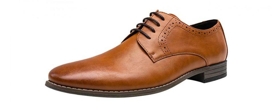 jousen men's oxford plain toe dress shoes