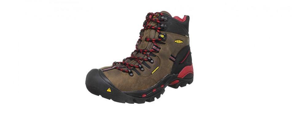 keen utility men's pittsburgh steel toe work boot