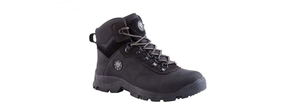 kingshow water resistant rubber sole boots