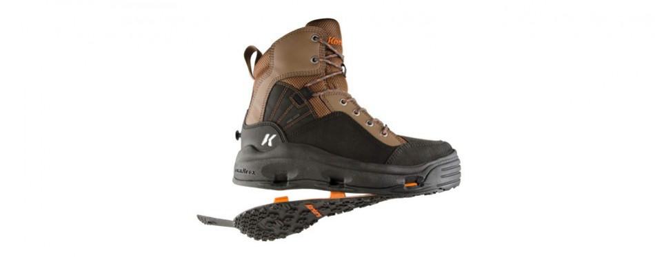 korkers buckskin wading boot