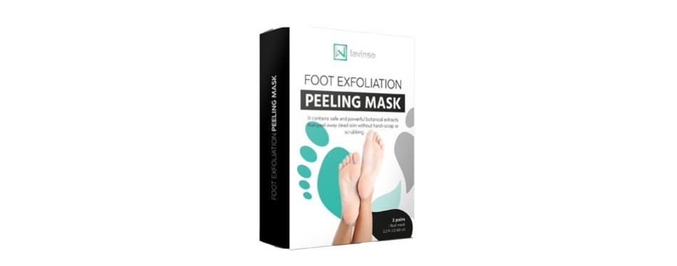lavinso foot peel mask