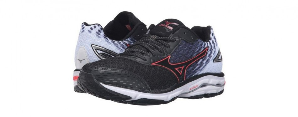 mizuno women's wave rider 19 running shoe